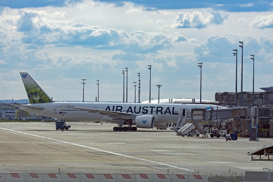 Aéroport de Roissy - Air Austral