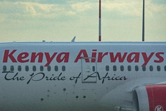 Aéroport de Roissy - Kenya airways