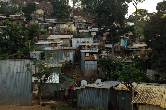 bidonville kaweni