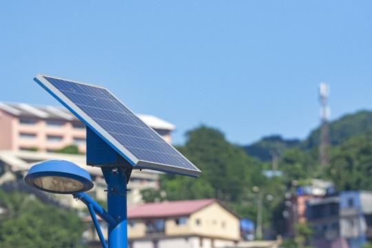 Eclaire publique et solaire