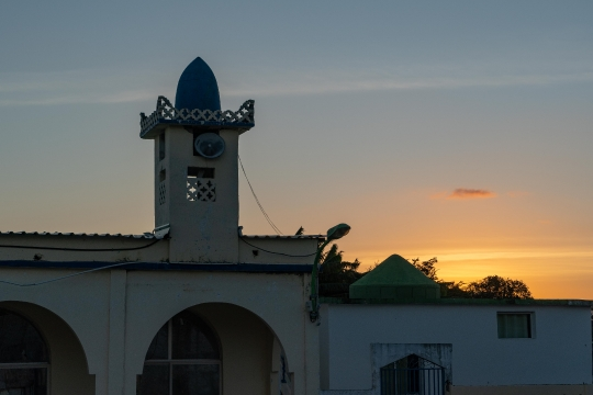 GLB 392 - Minaret au sunset
