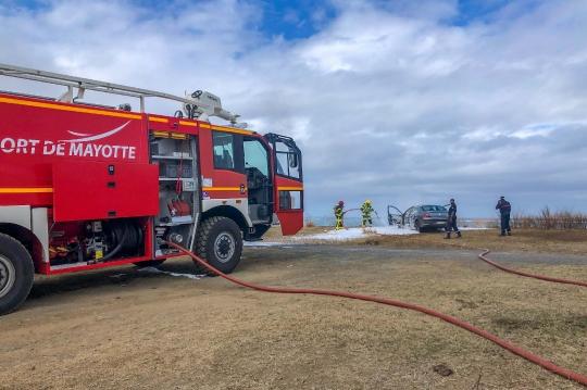 GLB 442 - Pompiers en intervention