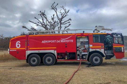 GLB 443 - Pompiers en intervention