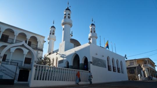 GLB0182 Anjouan Mosquée de Domoni