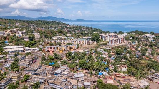 GLB283 village de Koungou aérien