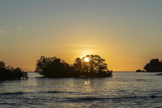 Sunset Mtsanga beach-3