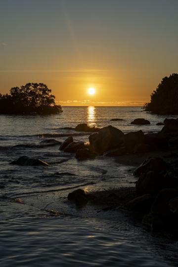 Sunset Mtsanga beach-4