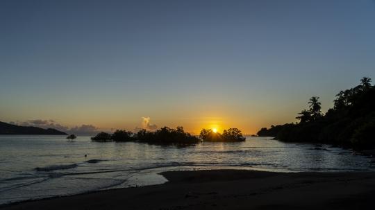Sunset Mtsanga beach-7
